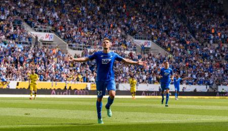 1899 Hoffenheim und der spätere kroatische Vize-Weltmeister Andrej Kramaric stürmten am letzten Spieltag 2017/2018 mit einem 3:1 im direkten Duell gegen Borussia Dortmund in die Champions League.