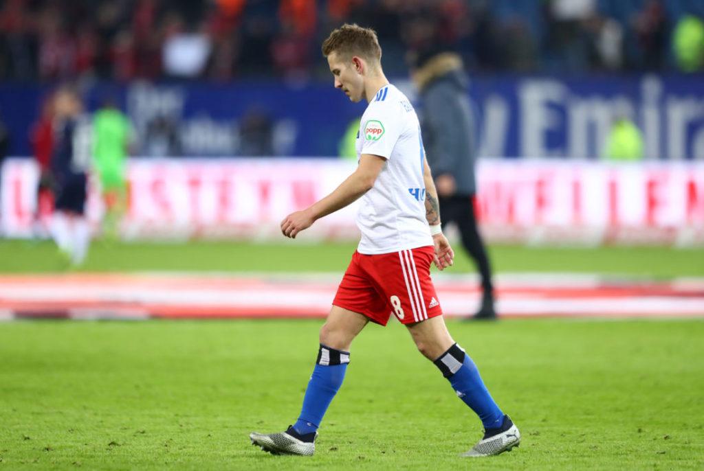 Lewis Holtby erlebte mit dem HSV im Jahr 2018 Höhen und Tiefen...