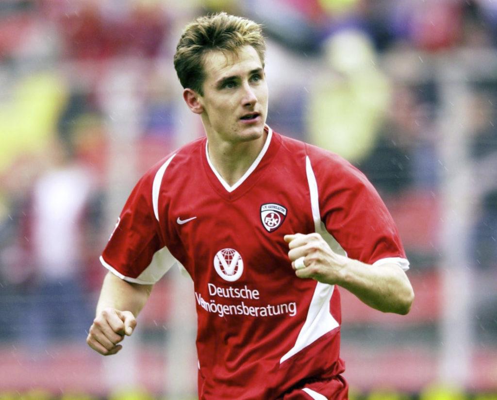 Miroslav Klose started out as freshman at Kaisersalautern.