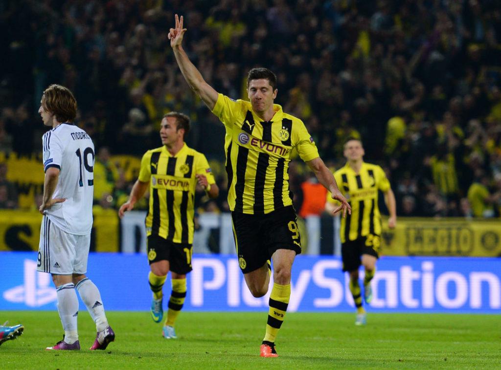 Robert Lewandowski Champions League