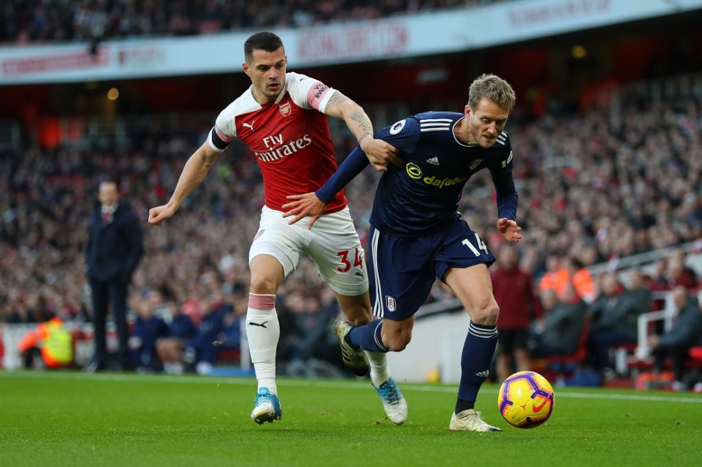 Xhaka will leave Arsenal in January