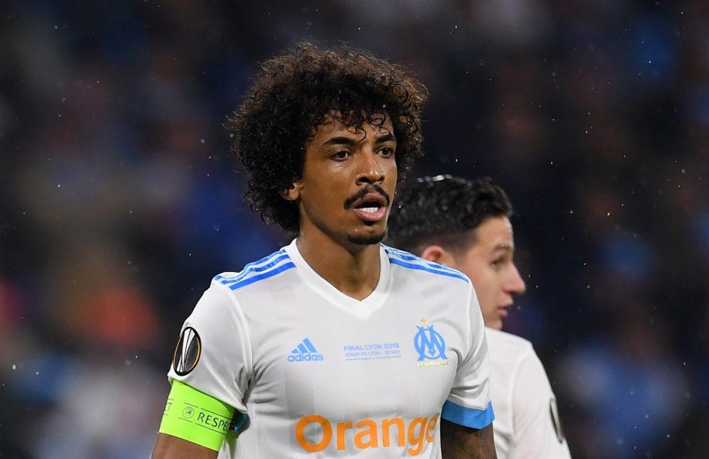 Luiz Gustavo im Dress von Olympique Marseille.