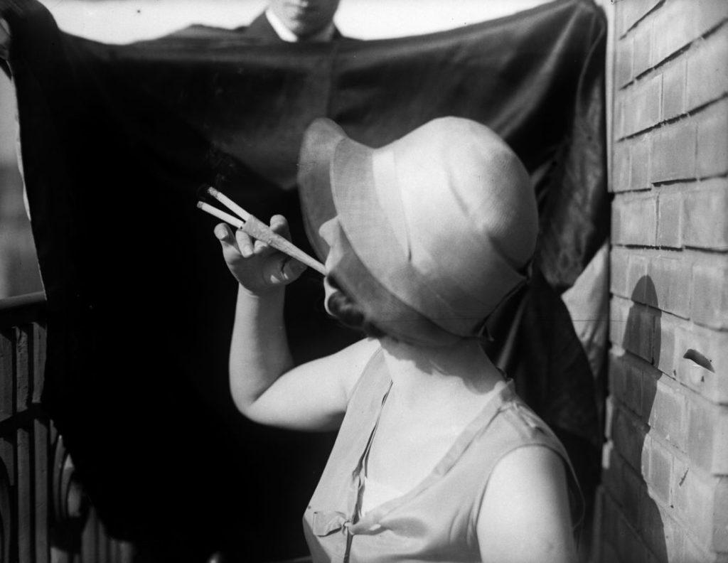 Der Nikotin-Flash ist nichts Neues.