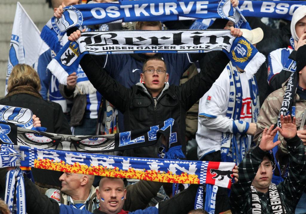 Die linke Seite ist die gefährliche Seite bei Hertha BSC.