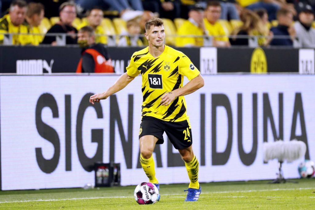 Thomas Meunier Borussia Dortmund Borussia Mönchengladbach 3:0