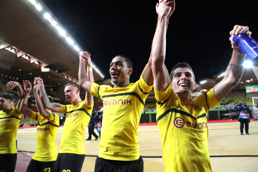 Dortmund schoss am seltensten neben das gegnerische Tor, am häufigsten ins gegnerische Tor.