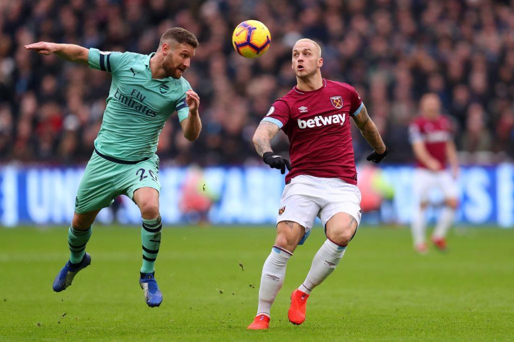 Marko Arnautovic West Ham United