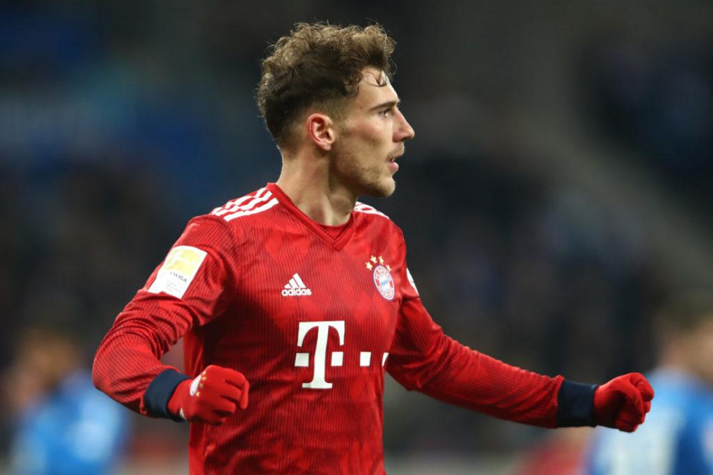 Leon Goretzka war gegen 1899 Hoffenheim mit 2 Toren der überragende Mann beim FC Bayern.