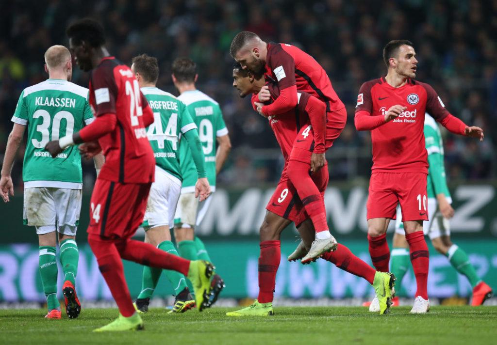 Die Eintracht-Stürmer Sebastién Haller und Ante Rebic waren ein Faktor für die Frankfurter..