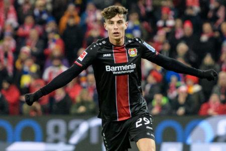 Leverkusen und Kai Havertz machten in der Rückrunde 2018/2019 richtig Dampf, wie hier beim 5:1-Auswärtssieg in Mainz.