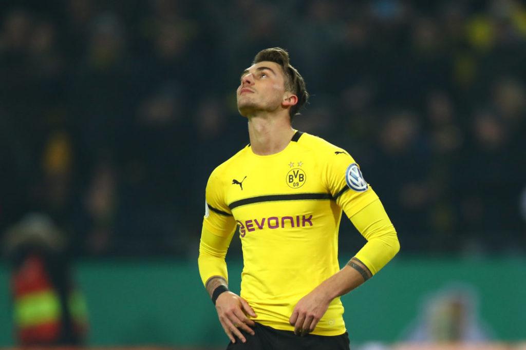 Maximilian Philipp konnte für Dortmund wie hier im verlorenen Pokalspiel gegen Bremen im Februar 2019 zu selten den Unterschied ausmachen...