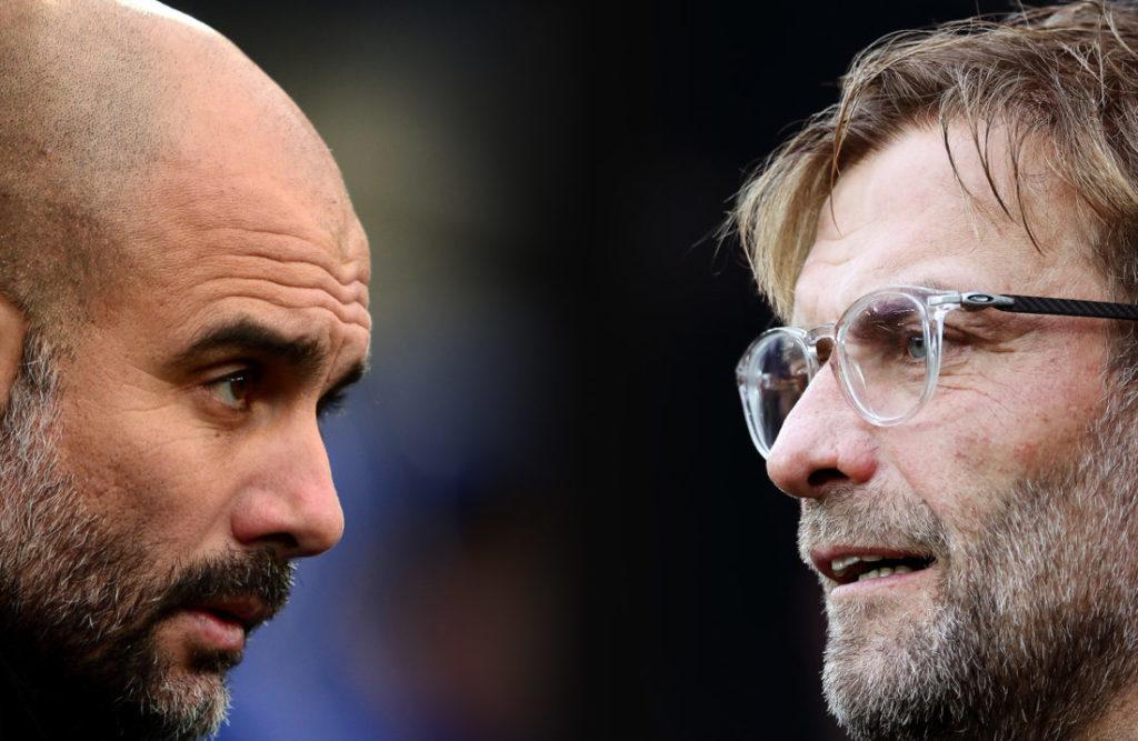 Pep Guardiola und Jürgen Klopp sind die beiden Manager, die die Premier league dominieren mit ihren Teams.