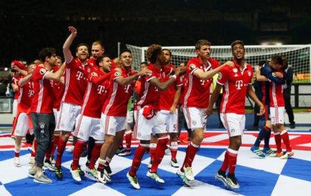 Bayern München ist DFB Pokalsieger 2016.