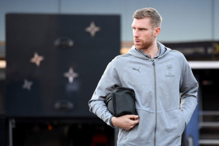 Per Mertesacker, hier noch in Diensten des FC Arsenal, arbeitet seit 2018 bei DAZN. (Photo by Laurence Griffiths/Getty Images)