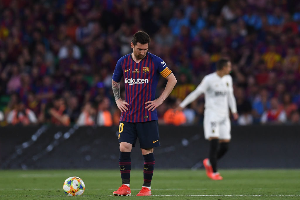 Messi set to miss out on Barcelona's LA LIGA opener