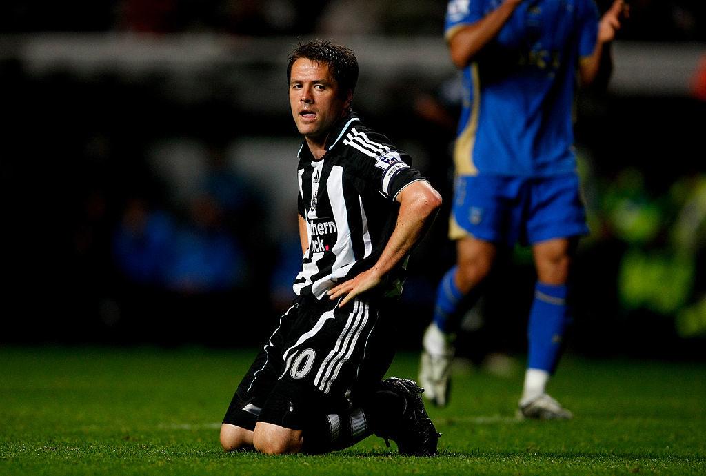 Wonder Boy, was nun? Michael Owen stieg 2009 mit Newcastle United aus der Premier League ab. (Photo by Stu Forster/Getty Images)