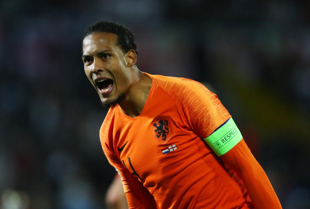 Champions-League-Sieger Virgil van Dijk führte die Niederlande gegen England (3:1 n V.) ins Finale der UEFA Nations League.