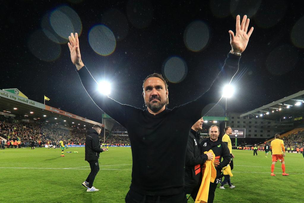 Der deutsche Trainer Daniel Farke führte Norwich City zurück in die englische Premier League.