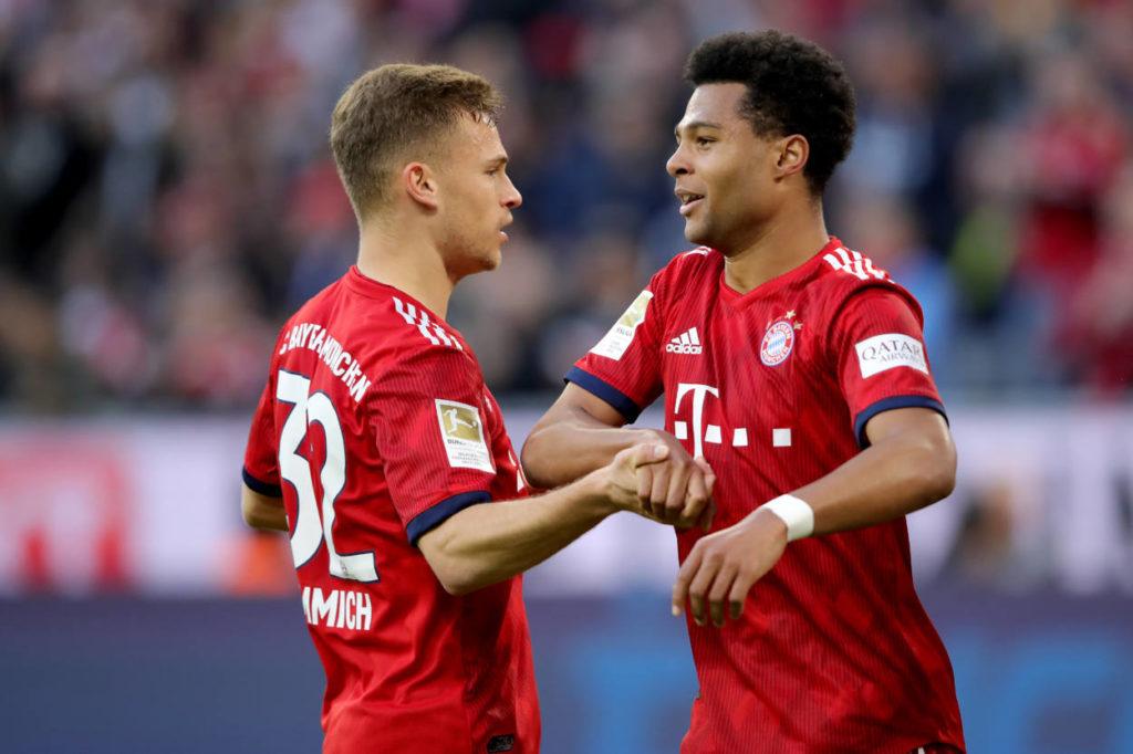 Serge Gnabry und Joshiua Kimmich waren die Garanten der erneuten Bayern-Meisterschaft.