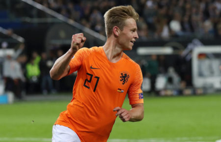 Barcelona midfielder Frenkie de Jong says Dutch team has a potential to be world-class with many best-in-the-world players.