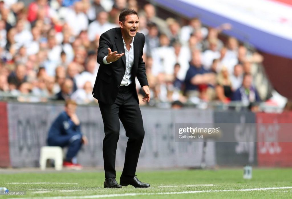 Lampard as Derby Manager