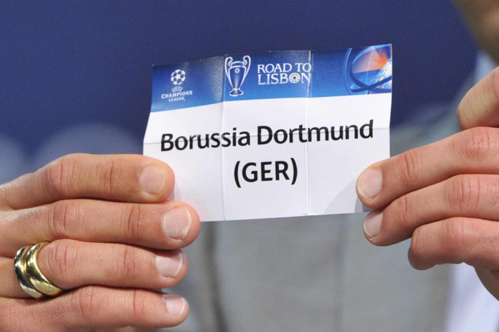 Der BVB spielt regelmäßig in der Champions League.