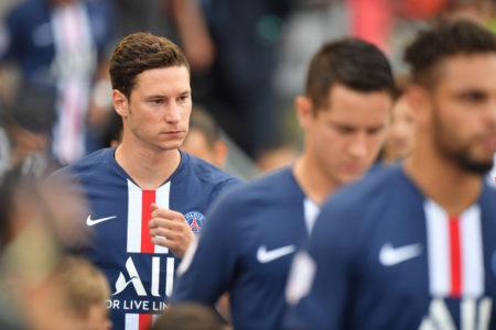 Julian Draxler vor dem prestigeträchtigen Testspiel 1. FC Nürnberg gegen Paris St.-Germain am 20. Juli 2019.