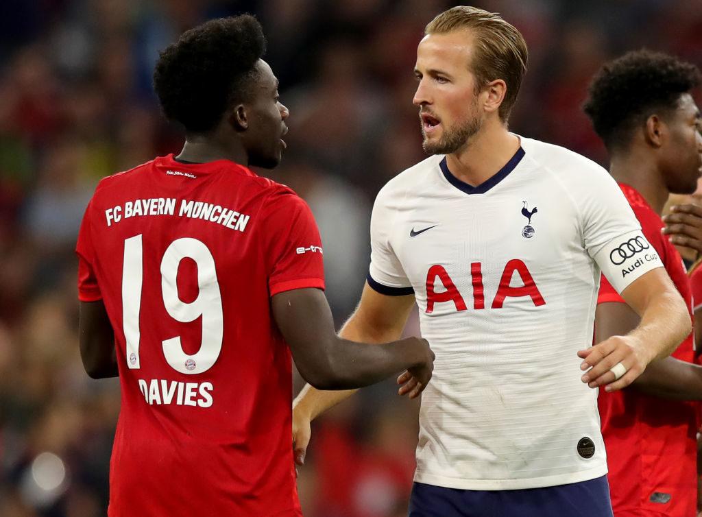 Alphonso Davies vom FC Bayern München bot gegen Tottenham Hotspur und Superstar Harry Kane im Finale des Audi Cup 2019 eine starke Leistung.
