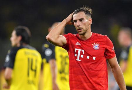 Supercup 2019: Enttäuscht verlässt Leon Goretzka nach dem 0:2 mit dem FC Bayern bei Borussia Dortmund den Signal Iduna Park.