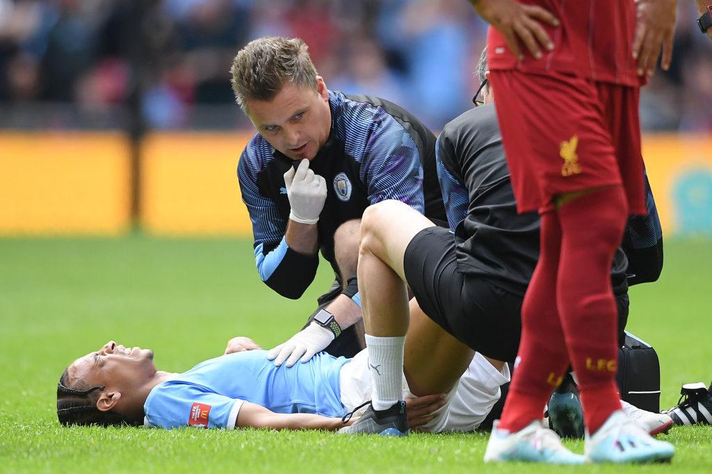 Leroy Sané - Alarmstufe Rot bei der medizinischen Abteilung von Manchester City...