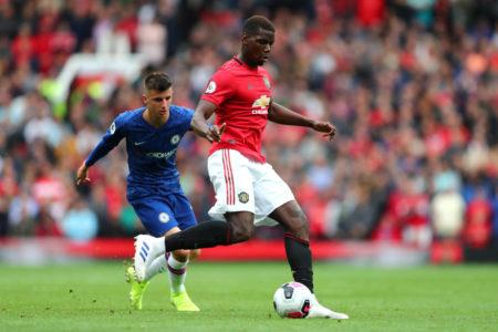 Pogba against Chelsea