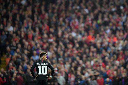 Neymar against Liverpool
