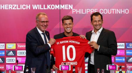 Coutinho joins Bayern on loan
