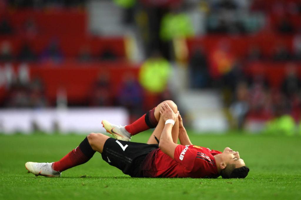 Alexis Sanchez of United