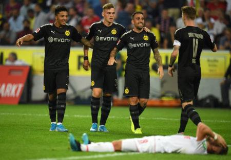 Borussia Dortmund drehte die Partie beim 1. FC Köln am 23. August 2019 mit 3 Toren ab der 70. Minute