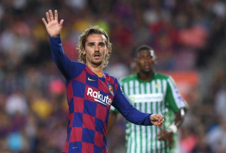 Weltmeister Antoine Griezmann riss beim FC Barcelona das Spiel gegen Real Betis an sich.