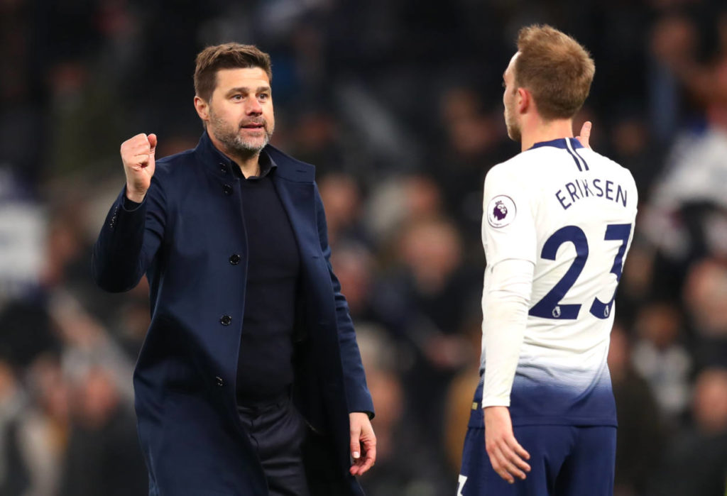 Pochettino Erikssen Tottenham Hotspur