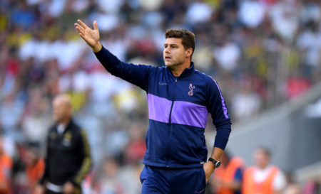 Pochettino head coach of Spurs