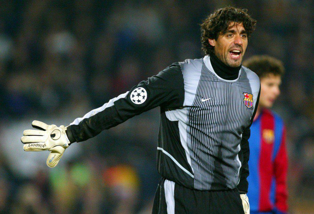 Ein Shotstopper ohne Glück. Roberto Bonano beim FC Barcelona