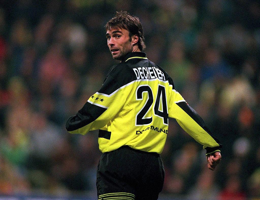 Harry Decheiver wechselte zur Unzeit zu Borussia Dortmund. (Photo by Bongarts/Getty Images)