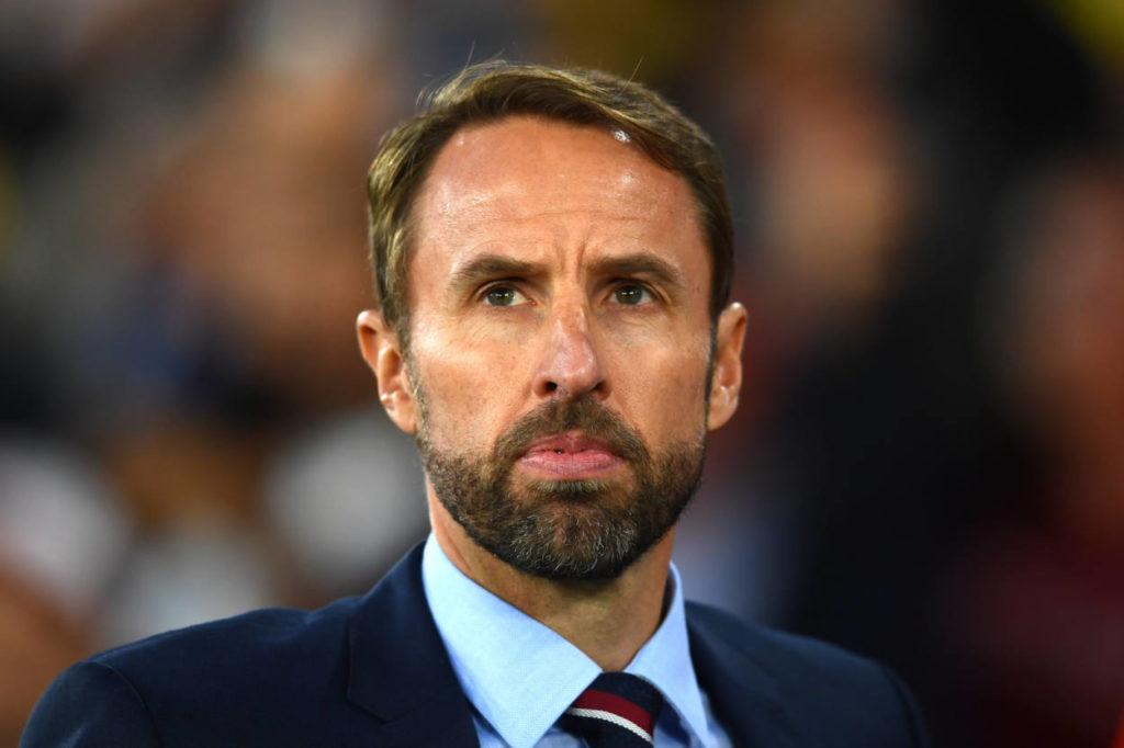 Gareth Southgate England Sterling