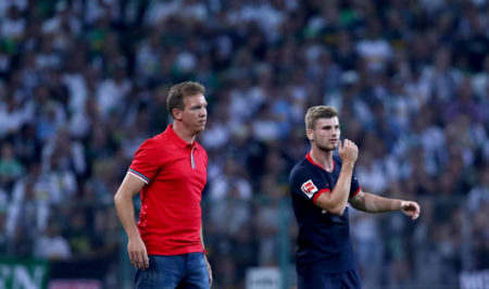 Julian Nagelsmann and Timo Werner