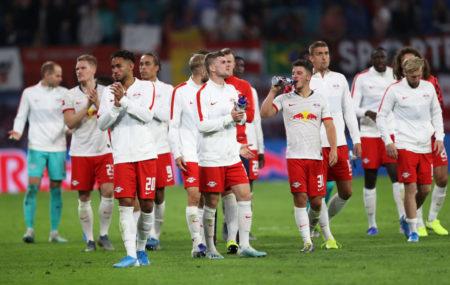 Die Leipziger verabschieden sich von ihren Fans, Für die Roten Bullen war gegen den FC Bayern München (1:1) mehr drin