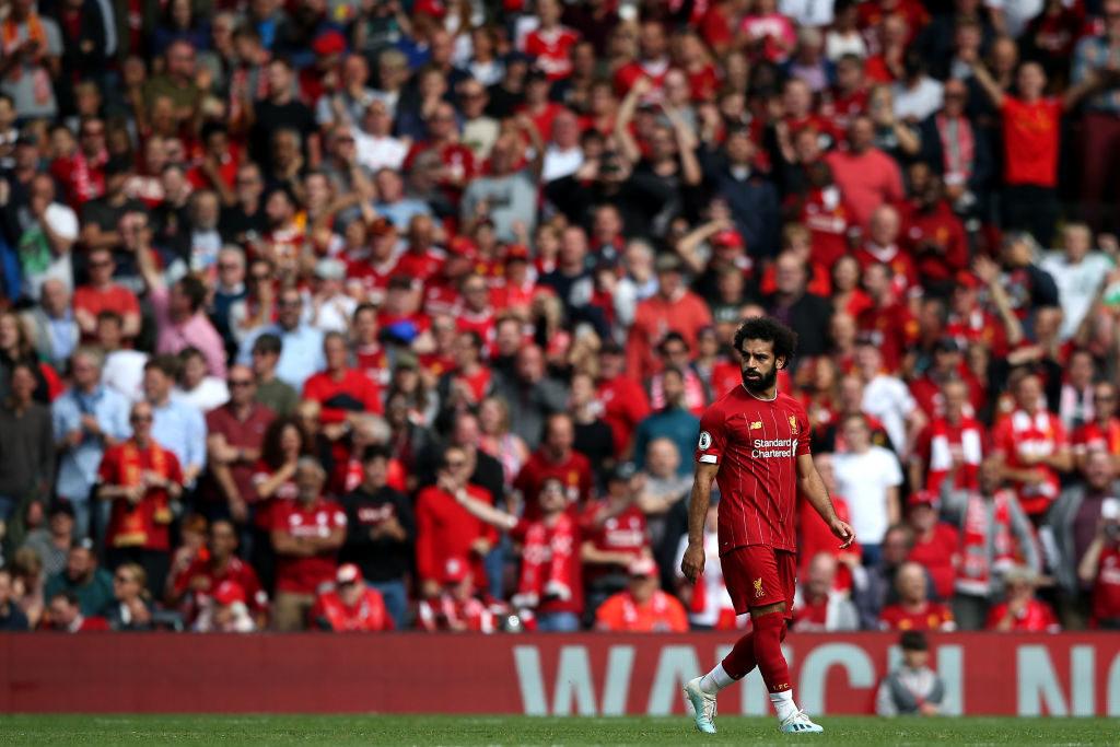 In Liverpool liegen die Fans Mo Salah zu Füßen...