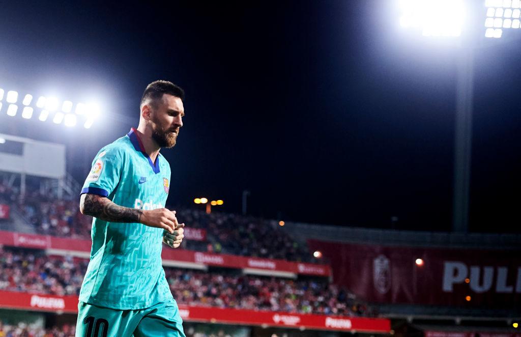 Superstar Lionel Messi konnte dem Spiel des FC Barcelona in Granada keine Wende geben...