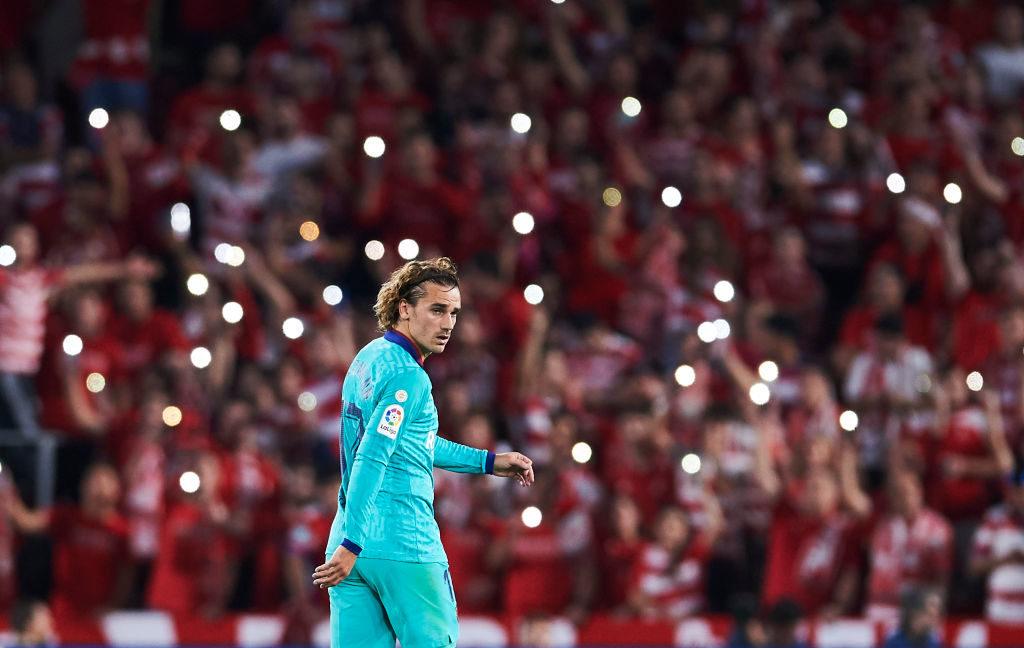 Granada feiert, Weltmeister Antoine Griezmann und der FC Barcelona bleiben ratlos zurück..