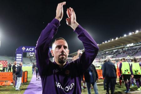Ex-Bayern-Star Franck Ribéry ist auch beim AC Florenz ein Publikumsliebling.