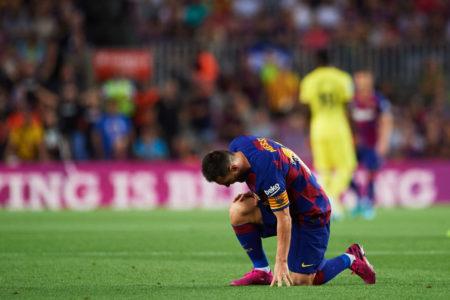Lionel Messi verletzte sich beim 2:1-Heimerfolg des FC Barcelona in La Liga gegen den FC Villarreal.