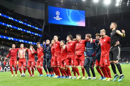 London calling! Der FC Bayern darf wieder in der britischen Hauptstadt feiern...