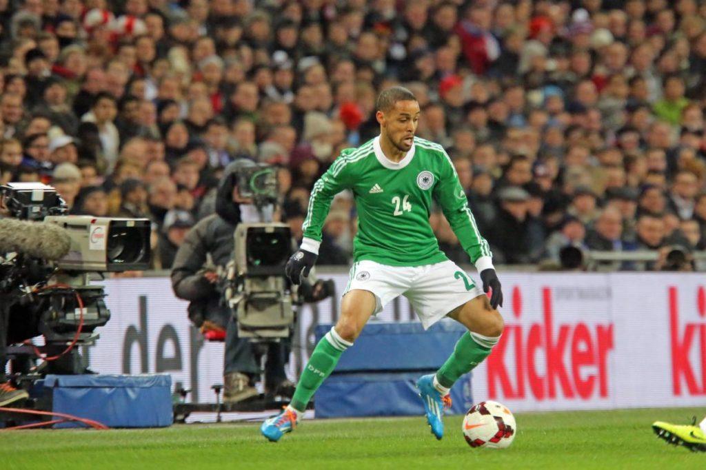 Sidney Sam zauberte für Deutschland schon in Wembley gegen England...
